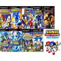 Sonic Ultimate Collections - Playstation 2 Frete Gratis.
