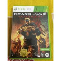 Gears Of War Judgment Xbox 360 Português Impecável Sem Risco