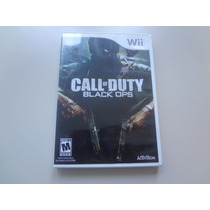 Nintendo Wii - Call Of Duty Black Ops Americano Completo