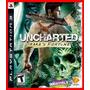 Uncharted 1 Ps3 Psn Drakes Fortune Legenda Portugues