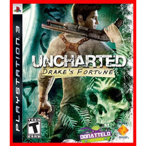 Uncharted 1 Ps3 Psn Drakes Fortune Legenda Portugues