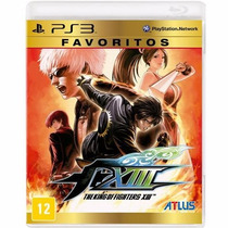 Jogo Para Ps3 The King Of Fighters Xiii Original Lacrado