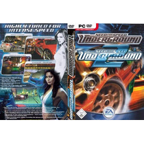 Need For Speed Underground 1 E 2 (pc) !!! Frete Grátis !!!