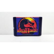 Jogo Mega Drive Mortal Kombat 2 Sega Genesis Mk2