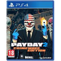 Payday 2 Crimewave Edition Ps4 Mídia Física Pronta Entrega