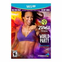 Zumba Fitness World Party Wii U Com Fitness Belt Rcr Games