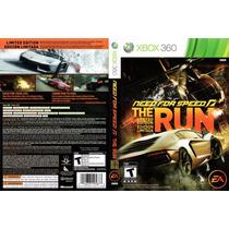 Need For Speed The Run X-box 360 (jogo Midia Física)