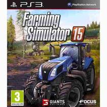 Farming Simulator 15 - Ps3 - Código Psn - Envio Hoje