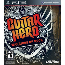 Guitar Hero Warriors Of Rock Original Ps3 Em Disco Garantia