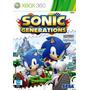 Sonic Generations - Xbox 360 - Novo, Original E Lacrado!