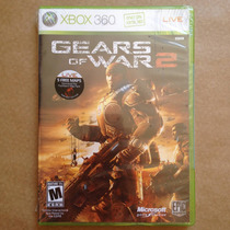 Gears Of War 2, Xbox 360. Jogo Americano Original Lacrado!