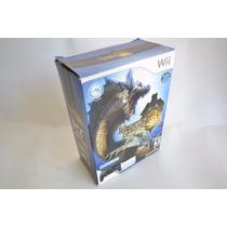 Monster Hunter 3 Tri + Controle Classic Pro - Wii - Original