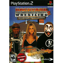 Patch Backyard Wrestling 2 There Goes T. N. Ps2 Frete Gratis