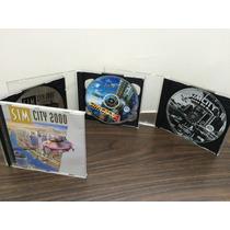Sim City 2000 E 4 E Hora Do Rush Completo E Raro Coleção