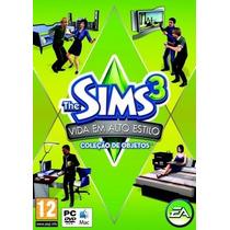 Jogo P/ Pc The Sims 3 Vida Em Alto Estilo