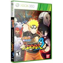 Jogo Naruto Ultimate Ninja Storm 3 Xbox 360 Original