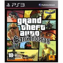 Gta Grand Theft Auto: San Andreas Ps3 Código Psn