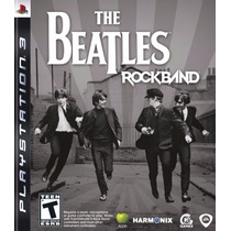 The Beatles Rock Band Para Playstation 3 Lacrado