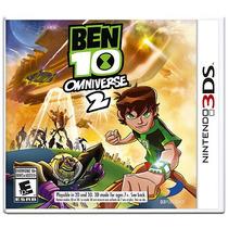 Ben 10 Omniverse 2 - Jogo 3ds