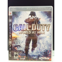 Jogo Call Of Duty World At War Playstation 3, Original, Novo