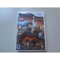 Nintendo Wii - Lego Senhor Dos Aneis Original Lacrado - Veja
