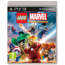 Lego Marvel Super Heroes - Jogo Ps3 (seminovo)