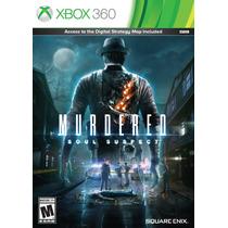 Murdered: Soul Suspect Xbox 360 Original Lacrado