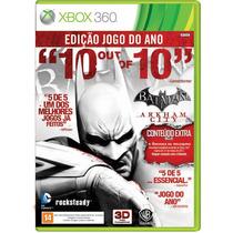 Batman Arkham City Xbox 360 Edição Limitada Legend Português