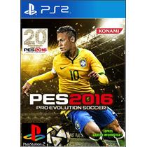 Pes 2016 Ps2 - Pro Evolution Soccer 2016 Lançamento Oficial!