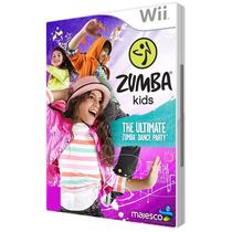 Zumba Kids - Nintendo Wii - Midia Fisica, Original E Lacrado
