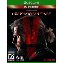 Novo Jogo Metal Gear The Phantom Pain Xbox One Original