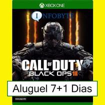 Aluguel Xbox One - Call Of Duty Black Ops 3 Locação 7+1dias