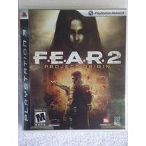 Fear 2 Project Origin Ps3 Midia Fisica Envio Imediato