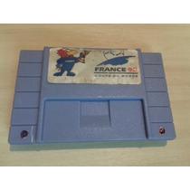France 98 - Copa Do Mundo - Super Nintendo - Futebol