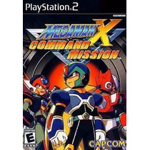 Jogo Ps2 - Megaman X Command Mission