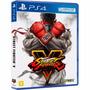 Street Fighter V - Ps4 - Playstation 4 - Mídia Física - 100%