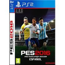 Pes Pro Evolution Soccer 2016 Atualizado Novembro Ps2 Pacth