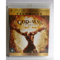 God Of War Ascension - Portugues Jogo Ps3 - Novo Lacrado
