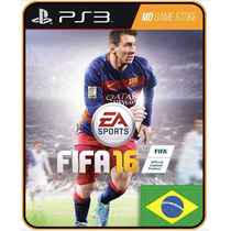 Fifa 16 2016 Jogos Ps3 Codigo Psn Jogos Baratos Aqui!
