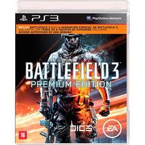 Battlefield 3 Ps3 - Lacrado - Mídia Física Premium Edition.