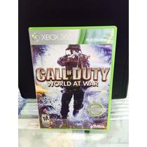 Jogo Call Of Duty World At War Xbox 360, Original, Novo