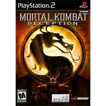 Mortal Kombat Deception Ps2 Patch Frete Unico