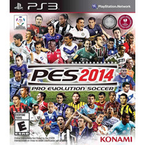 Pro Evolution Soccer 2014 Pes14 100% Mídia Física Ps3 Lacrad