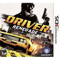 Jogo Nintendo 3ds Driver Renegade Original Lacrado