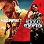 Ps3 Max Payne 3 Em Português + Dlcs + Red Dead Redemption