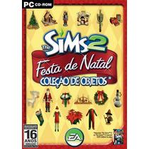 Game Pc The Sims 2 Festa De Natal Coleção De Objetos