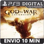 God Of War Ascension - Original Cod Psn Ps3 - Envio Imediato