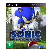 Jogo Sonic The Hedgehog - Ps3 Sega