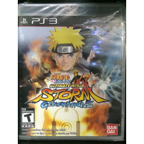 Naruto Ultimate Ninja Generations Para Ps3 Novo Lacrado