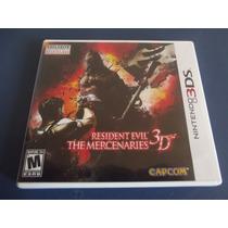 Resident Evil The Mercenaries 3d Original 3ds